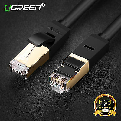 Ugreen High Speed Cat7 RJ45 Ethernet Lan Network 10Gbps Cable Cord for PC Laptop