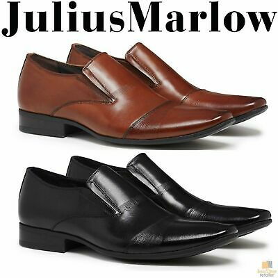 JULIUS MARLOW Bernie Mens Shoes Slip On Dress Work Formal Casual Business New
