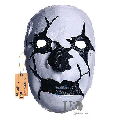 Devil Halloween Mask Masquerade Fancy Party Costume Cosplay Dress Latex Adult