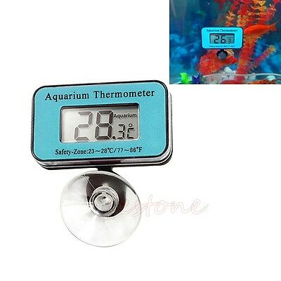 Numérique  LCD submersible Fish Tank Aquarium Thermomètre