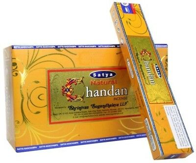Satya Natural Series - Chandan - NAG CHAMPA INCENSE - SATYA STICKS - 180 GRAMS