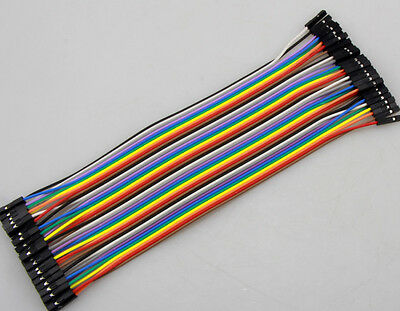 Female to Female 40P dupont cable 2.54mm 1P-1P 20CM For Arduino