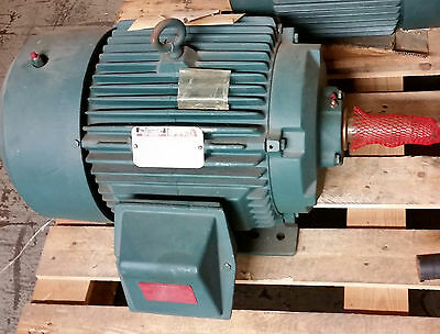 Reliance Electric 10hp Severe Duty Motor 460V 1170 RPM, P25G5277 C, ECP82332T-4