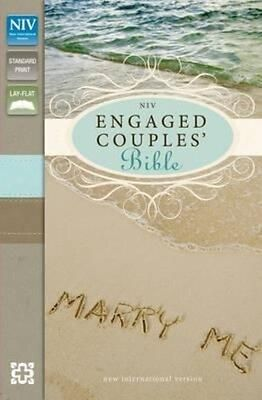 Niv Engaged Couples' Bible by New International Version Hardcover Book (English)