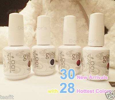 15ml Any 1 I DO Uv Gelish Gel Polish Soak Off Led Diy Top Base IDO 30 New Colors