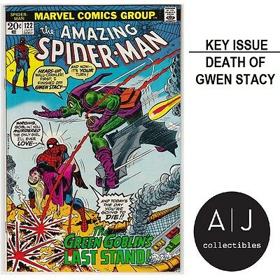 The Amazing Spider-Man #122 (T Marvel T) VERY HIGH GRADE ISSUE! HIGH RES SCANS!