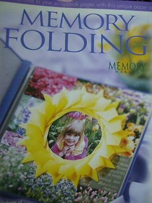 Memory Folding Scrapbooking Book With 4 Sheets Of Paper, Memory Makers