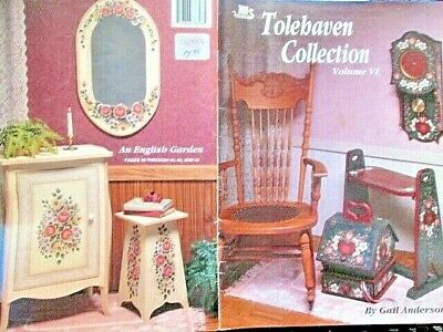 Tolehaven Collection Painting Book 6 (VI)-Anderson- Flowers Birds-