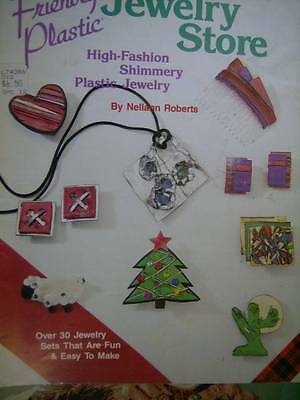 Friendly Plastic Jewelry Store Craft Book With 30+ Designs