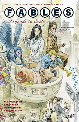 FABLES TP VOL 01 LEGENDS IN EXILE NEW ED DC Comics Softcover - Vault 35