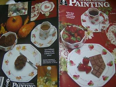 Ultra Gloss Painting Book Southwest, Fruit, Flowers, Christmas