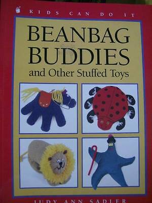 Beanbag Buddies & Other Stuffed Toys Craft Book Frog, Turtle, Cat, Baby, Puppy