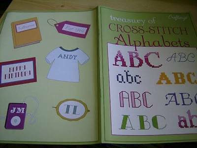 Craftways Treasury of Cross Stitch Alphabets Booklet With 9 Styles
