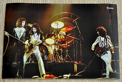 Queen poster Sheer Heart Attack Live On Stage 19 x 13 Poster RaRe