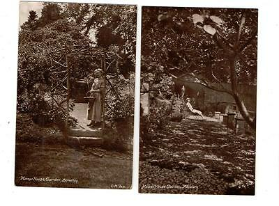 Bewdley Manor House - Five Old Real Photo Postcards