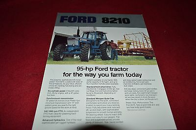 Ford 8210 Tractor Dealer's Brochure YABE8 ver3