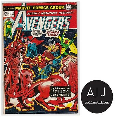 The Avengers #112 (T Marvel T) VG - VG+! HIGH RES SCANS!