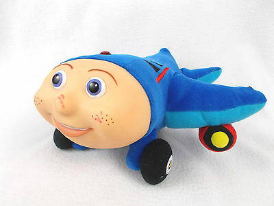 "RARE Vintage Jay Jay the Jet Plane 10"" Talking Plush Doll Toy 1999 KidPower"