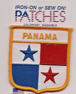 Souvenir Flag Patch - Country Of Panama