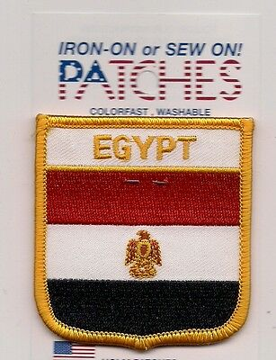 Souvenir Flag Patch - Country Of Egypt