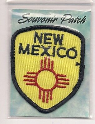 Souvenir Travel Patch - State Of New Mexico -  Enchantment
