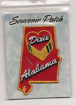 Souvenir Patch - State Of Alabama