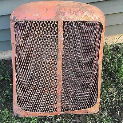 Vintage Allis Chalmers Tractor Grill Rat Rod Farm Fresh Complete With Radiator!