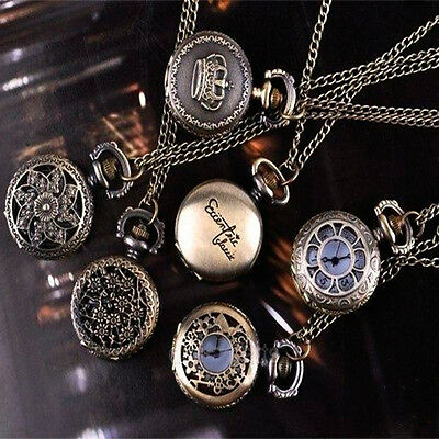 Wholesale Delicate roman numeral carved pendent fashion necklace watch Good