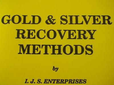 Gold & Silver Recovery Methods Book-Electric Parts-Jewelry-Mercury-Refining