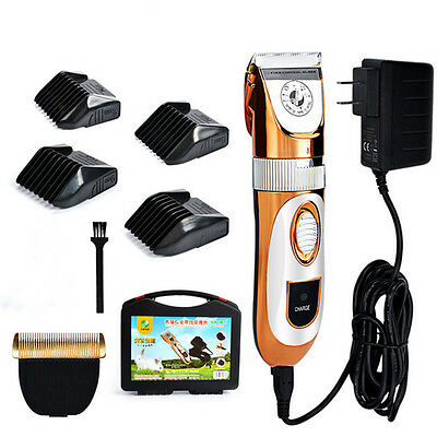 60W Electric Pet Trimmer Dog Tabbit Hair Clippers Cutting Machine Animal Shaver