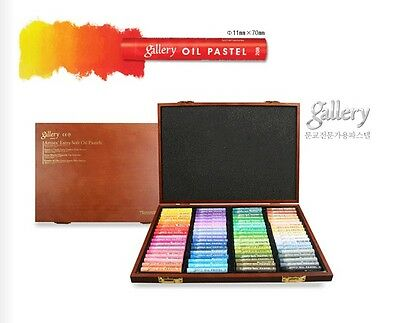 Soft Oil Pastel Mungyo Gallery Premium 12 24 36 48 72 Colours Wood Drawing MOPV