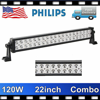 21inch 120W CREE COMBO LED Work Light Bar Offroad Driving Lamp SUV Boat 4WD Fog