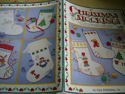 Christmas Stockings Iron On Patterns & Sewing Book, 50+ Designs