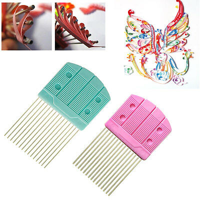 Paper Quilling Comb Tool Paper Craft Tool Creat Loops 15pins Accessory Supply