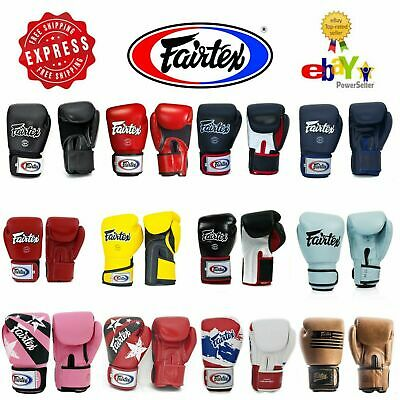 Fairtex Gloves Muay Thai Kick Boxing MMA K1 BGV1 BGV5 BGV6