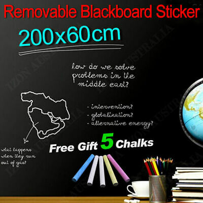 Blackboard Removable Vinyl Wall Self Adhesive Chalkboard Decal Paper Sticker