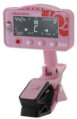 KORG tuner / metronome Dolcetto Orchestra dexterity Hello Kitty model pink