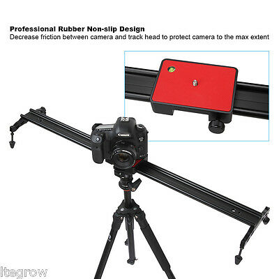 "48"" 120cm Camera DSLR DV Track Rail Dolly Slider Video Stabilization System"
