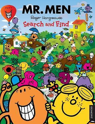 Mr. Men Search and Find Activity Book, Hargreaves, Roger, New