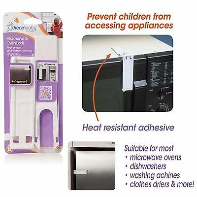 Baby Safety Guard Protectors Toddler Children Kids Microwave Oven Fridge Lock