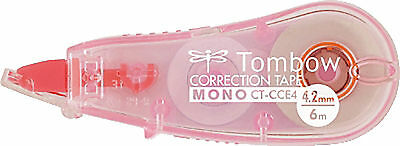Tombow CT-CCE4-PK Korrekturroller MONO CCE pink 4,2 mm pink