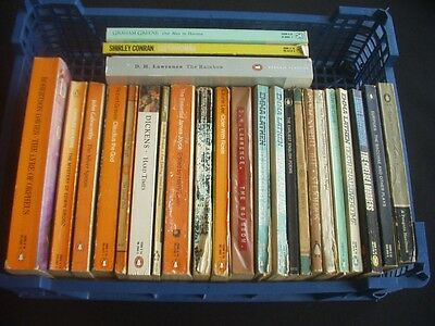 Mixed Collection / Job Lot Of 25 Vintage Penguin Books ~Itemised