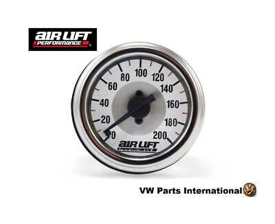 Air Lift Performance Single Needle Gauge 200 PSI - Air Lift Air Ride Suspension