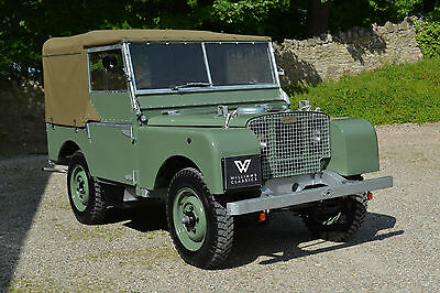 "Land Rover Series 1 80"" 1948 Ken Wheelwright Restoration SOLD MORE REQUIRED!!"
