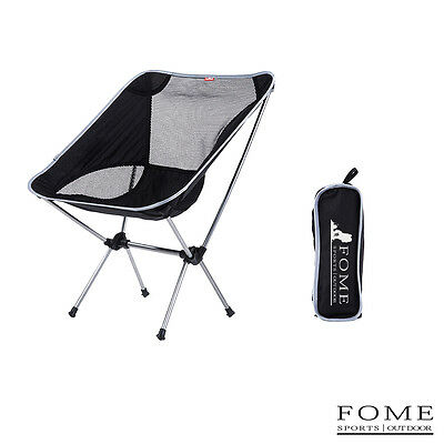 Portable Camping Aluminium Alloy Stool Outdoor Foldable Chair Fishing Chair