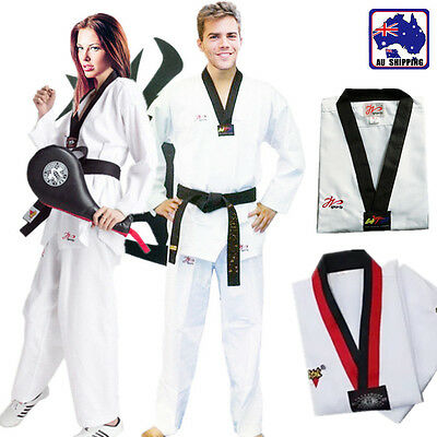 Taekwondo Uniform 130CM~190CM Children Adult Long-sleeve Suits Garment OGLS131