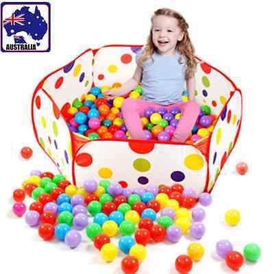 Foldable Waterproof Ocean Ball Pit Pool Game Play Toy Outdoor Indoor GITY 16606