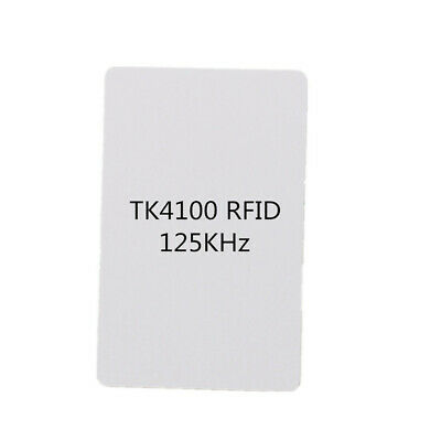 20pcs Contactless RFID ID Card 125KHz TK4100 Proximity Smart Inkjet Printable