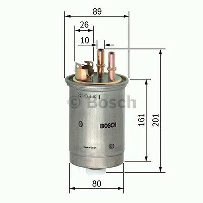 0450906376 Bosch Fuel Filter N6376 [Filters - Fuel] Brand New Genuine Part
