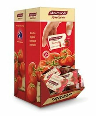 *Bulk Buy* Masterfoods Tomato Sauce Portion Control Squeeze 14 Gram Box of 100